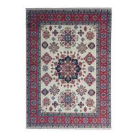 shal Hand knotted  11'8x 9' wool kazak area rug  361x280 cm  Oriental carpet
