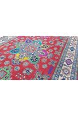 ZARGAR RUGS Handgeknüpft wolle kazak teppich  314x244 cm   Orientalisch teppichboden