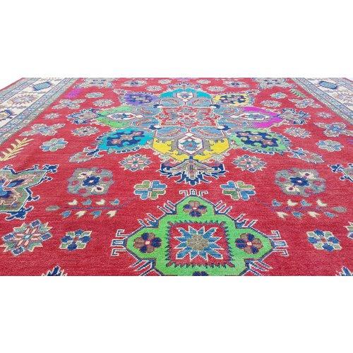 Handgeknoopt kazak tapijt 314x244 cm  oosters kleed vloerkleed