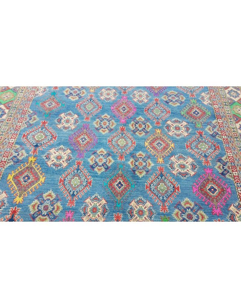 ZARGAR RUGS Handgeknüpft wolle kazak teppich  353x264 cm   Orientalisch teppichboden