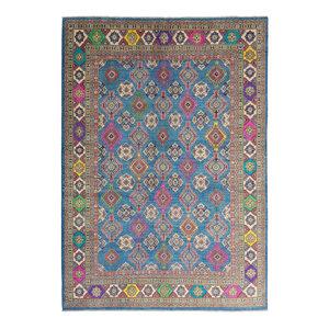 Handgeknoopt kazak tapijt 353x264 cm  oosters kleed vloerkleed