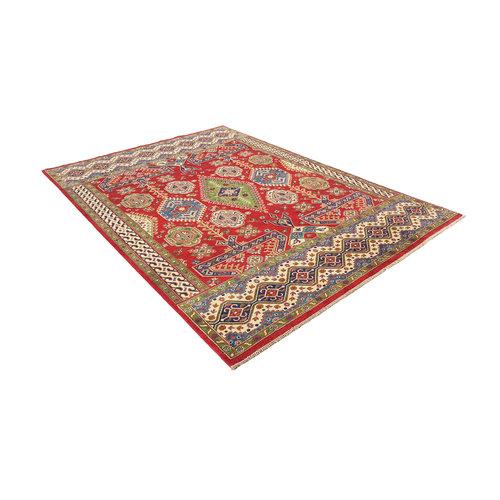 Handgeknoopt kazak tapijt 288x208 cm oosters kleed vloerkleed