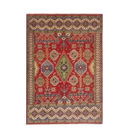 ZARGAR RUGS Hand knotted  9'x6'8 wool kazak area rug 288x208 cm  Oriental carpet