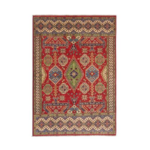 Handgeknüpft wolle kazak teppich  288x208 cm Orientalisch  teppich