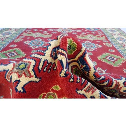 Handgeknüpft wolle kazak teppich 299x202 cm   Orientalisch  teppich