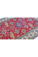 ZARGAR RUGS Hand knotted  9'8x 6'6 wool kazak area rug  299x202 cm   Oriental carpet