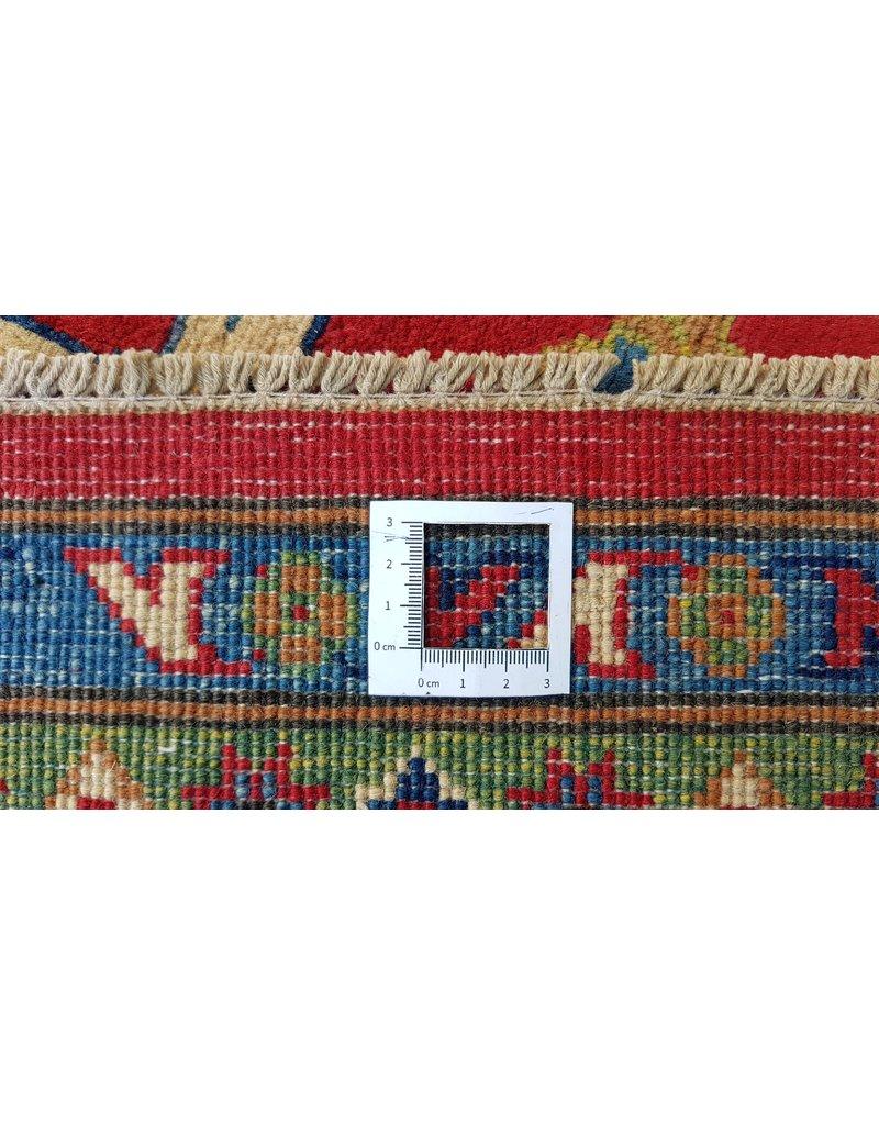 ZARGAR RUGS Handgeknüpft wolle kazak teppich 299x200 cm   Orientalisch  teppich