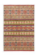 ZARGAR RUGS shal Hand knotted  9'5x6'8 wool kazak area rug   291x210 cm   Oriental carpet