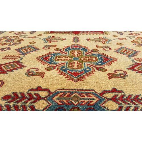 Hand knotted  9'8x6'5 wool kazak area rug  300x200 cm  Oriental carpet