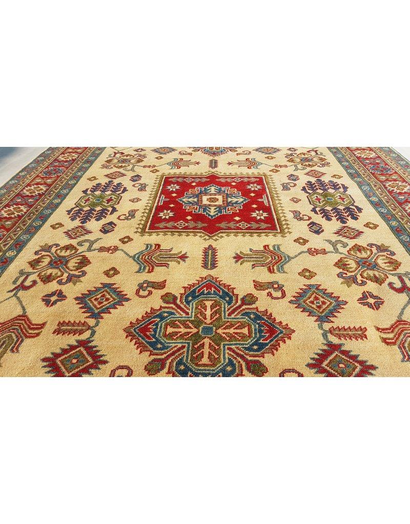 ZARGAR RUGS Hand knotted  9'8x6'5 wool kazak area rug  300x200 cm  Oriental carpet