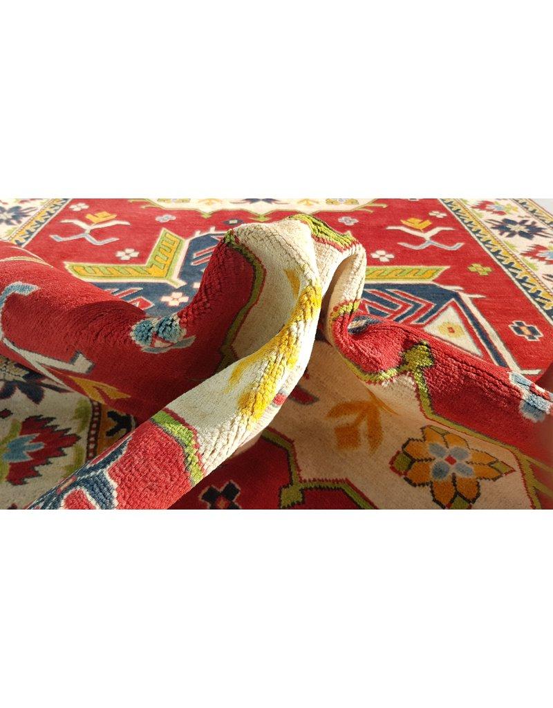 ZARGAR RUGS Handgeknüpft wolle kazak teppich 272x186 cm   Orientalisch  teppich