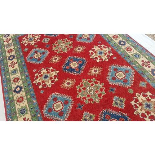 Handgeknoopt kazak tapijt 295x198 cm  oosters kleed vloerkleed