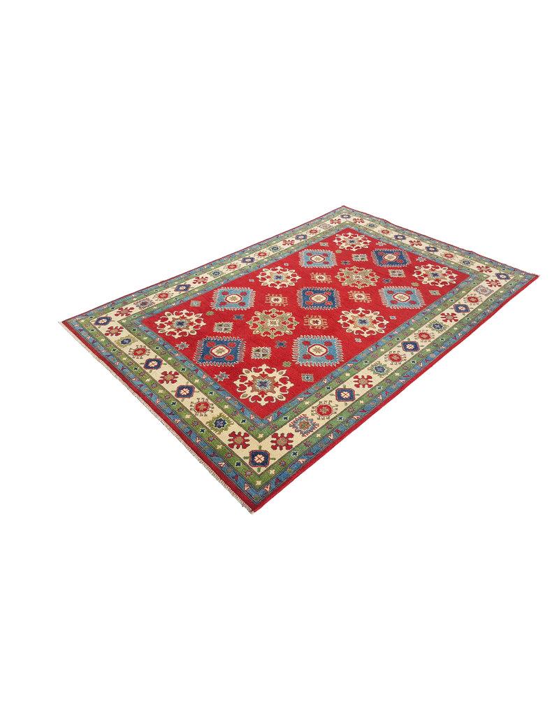 ZARGAR RUGS Handgeknüpft wolle kazak teppich 295x198 cm   Orientalisch  teppich