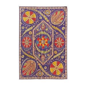 Hand knotted  9'6x6' wool kazak area rug  294x198 cm  Oriental carpet