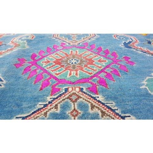 Handgeknüpft wolle kazak teppich 260x181 cm   Orientalisch  teppich