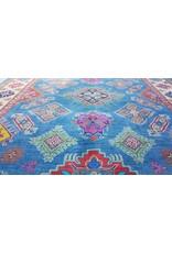 ZARGAR RUGS Hand knotted  9'5x6' wool kazak area rug   291x193 cm   Oriental carpet