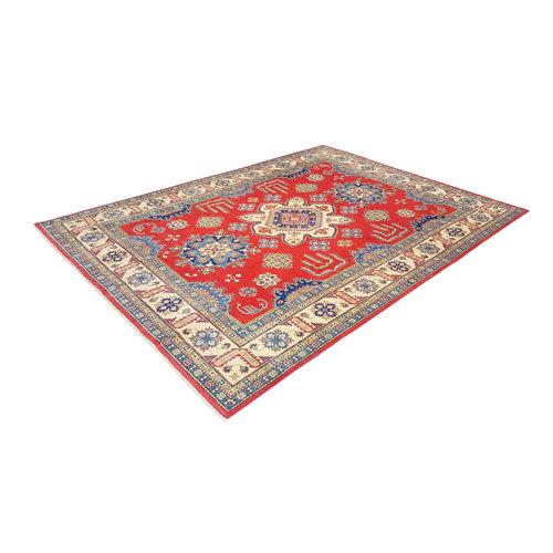 Handgeknoopt kazak tapijt 369x274 cm  oosters kleed vloerkleed