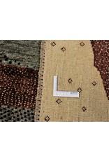 ZARGAR RUGS Handgeknüpft Modern Art Deco 294x200 cm Abstrakt Wolle Teppich