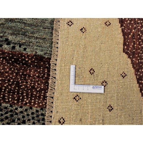 Handgeknoopt Modern Art Deco tapijt 294x200 cm  oosters kleed vloerkleed