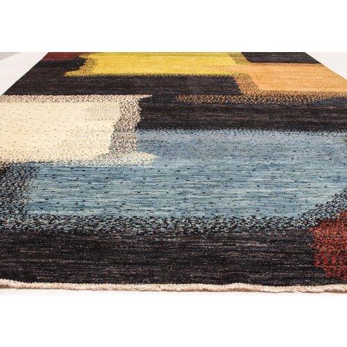 Handgeknüpft Modern Art Deco 298x199 cm Abstrakt Wolle Teppich