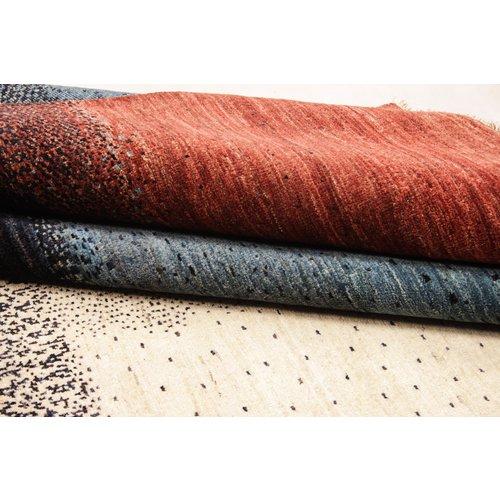 Handgeknoopt Modern Art Deco tapijt 298x199 cm  oosters kleed vloerkleed