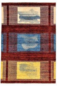 Handgeknoopt Modern Art Deco tapijt 301x199 cm  oosters kleed vloerkleed  Design82
