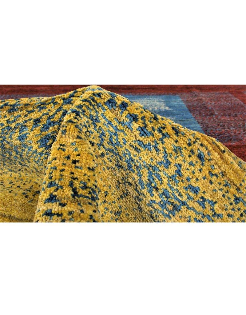 ZARGAR RUGS  Handgeknoopt Modern Art Deco tapijt 301x199 cm  oosters kleed vloerkleed