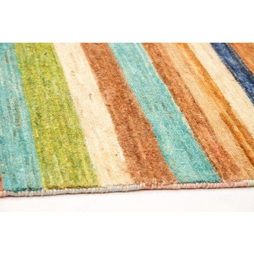 Handgeknüpft Modern Art Deco 310x195 cm Abstrakt Wolle Teppich