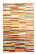 ZARGAR RUGS Handgeknüpft Modern Art Deco 310x195 cm Abstrakt Wolle Teppich