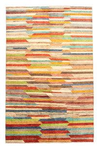 Handgeknoopt Modern Art Deco tapijt 310x195 cm  oosters kleed vloerkleed  design multi