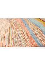 ZARGAR RUGS Handgeknüpft Modern Art Deco 298x194 cm Abstrakt Wolle Teppich