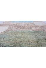 ZARGAR RUGS Handgeknüpft Modern Art Deco 295x200 cm Abstrakt Wolle Teppich