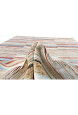 ZARGAR RUGS Handgeknüpft Modern Art Deco 297x199 cm Abstrakt Wolle Teppich