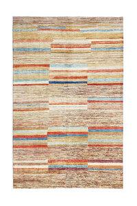Handgeknoopt Modern Art Deco tapijt 297x199 cm  oosters kleed vloerkleed