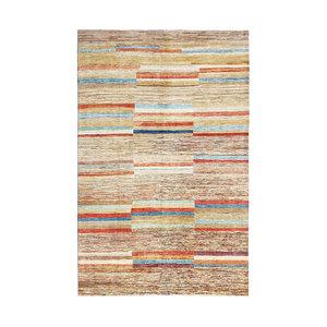 Handgeknüpft Modern Art Deco 297x199 cm Abstrakt Wolle Teppich