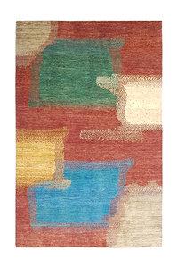 Handgeknoopt Modern Art Deco tapijt 294x197 cm  oosters kleed vloerkleed  design18