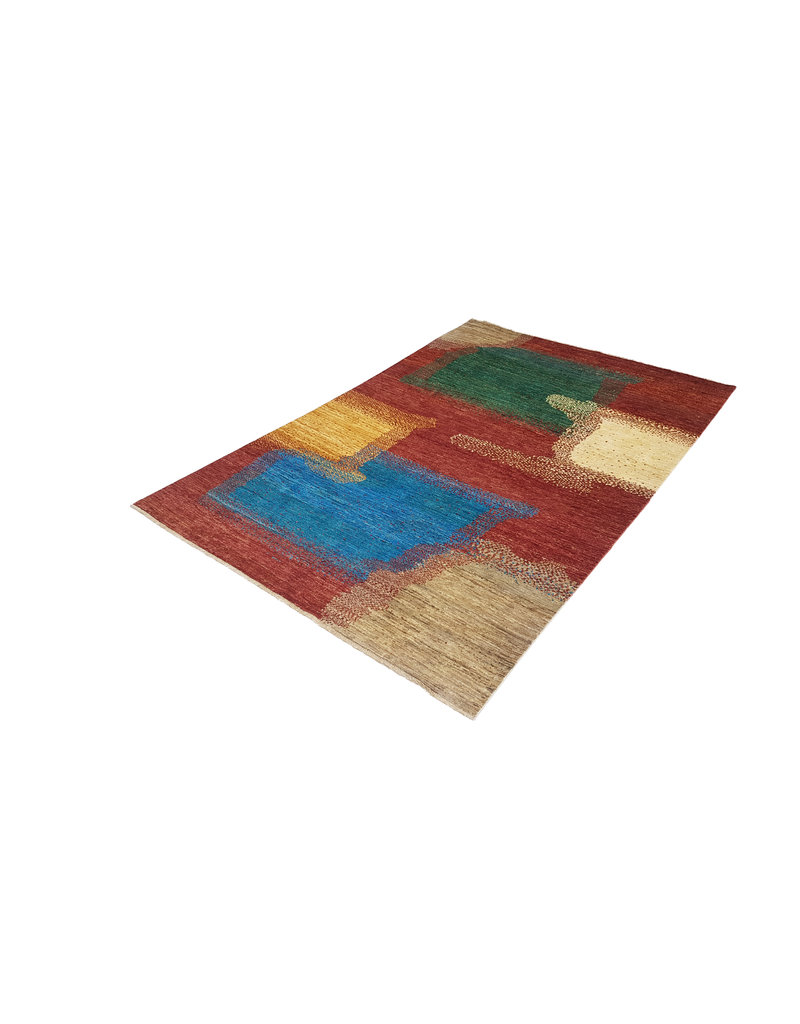 ZARGAR RUGS  Handgeknoopt Modern Art Deco tapijt 294x197 cm  oosters kleed vloerkleed