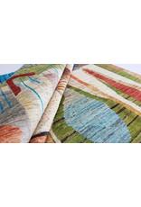 ZARGAR RUGS Hand knotted 9'9x6'5 Modern  Art Deco Wool Rug 304x201 cm  Abstract Carpet