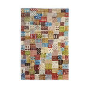 Handgeknoopt Modern Art Deco tapijt 293x199 cm  oosters kleed vloerkleed   design103