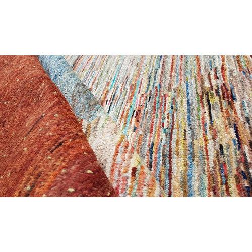 Handgeknüpft Modern Art Deco 296x196 cm Abstrakt Wolle Teppich