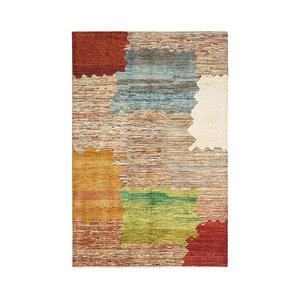 Handgeknoopt Modern Art Deco tapijt 296x196 cm  oosters kleed vloerkleed   design18