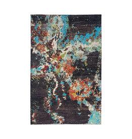 ZARGAR RUGS Handgeknüpft Modern Art Deco 291x202 cm Abstrakt Wolle Teppich