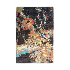 Handgeknoopt Modern Art Deco tapijt 298x202 cm  oosters kleed vloerkleed