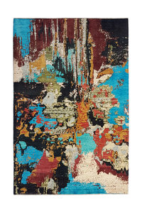 Handgeknoopt Modern Art Deco tapijt 295x200 cm  oosters kleed vloerkleed design135