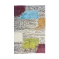 Hand knotted 9'7x6' Modern  Art Deco Wool Rug 297x198 cm  Abstract Carpet  desgin18