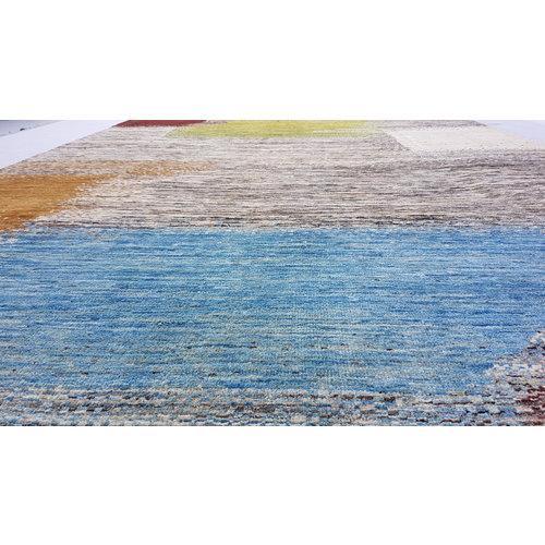 Handgeknüpft Modern Art Deco 297x198 cm Abstrakt Wolle Teppich