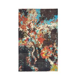 ZARGAR RUGS Handgeknüpft Modern Art Deco 306x201 cm Abstrakt Wolle Teppich