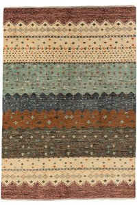 Handgeknoopt Modern Art Deco tapijt 303x195 cm  oosters kleed vloerkleed