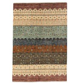 ZARGAR RUGS Handgeknoopt Modern Art Deco tapijt 303x195 cm  oosters kleed vloerkleed