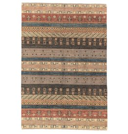 ZARGAR RUGS Handgeknüpft Modern Art Deco 301x199 cm Abstrakt Wolle Teppich